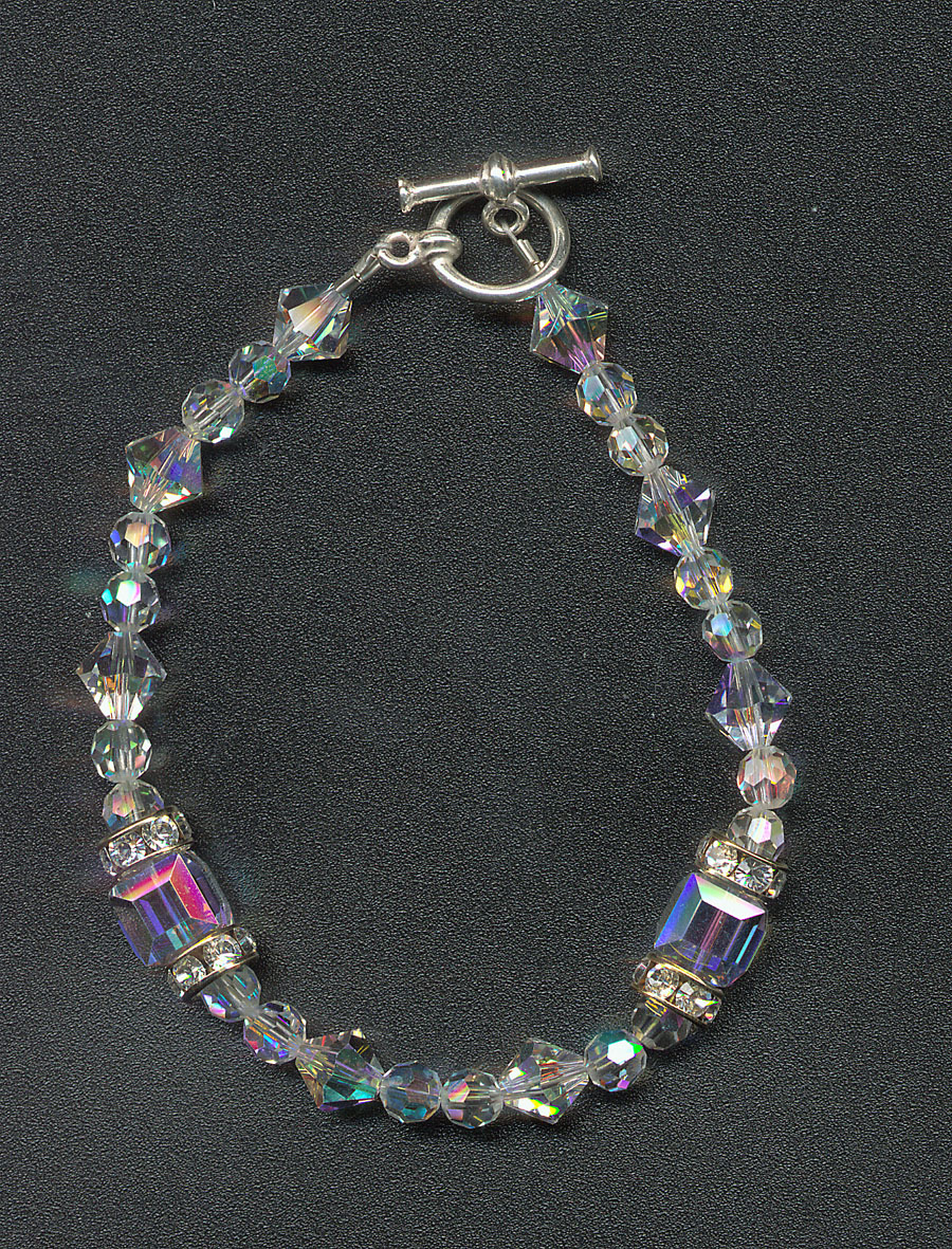 Penny Crabtree: Goddess Crystal Bracelet