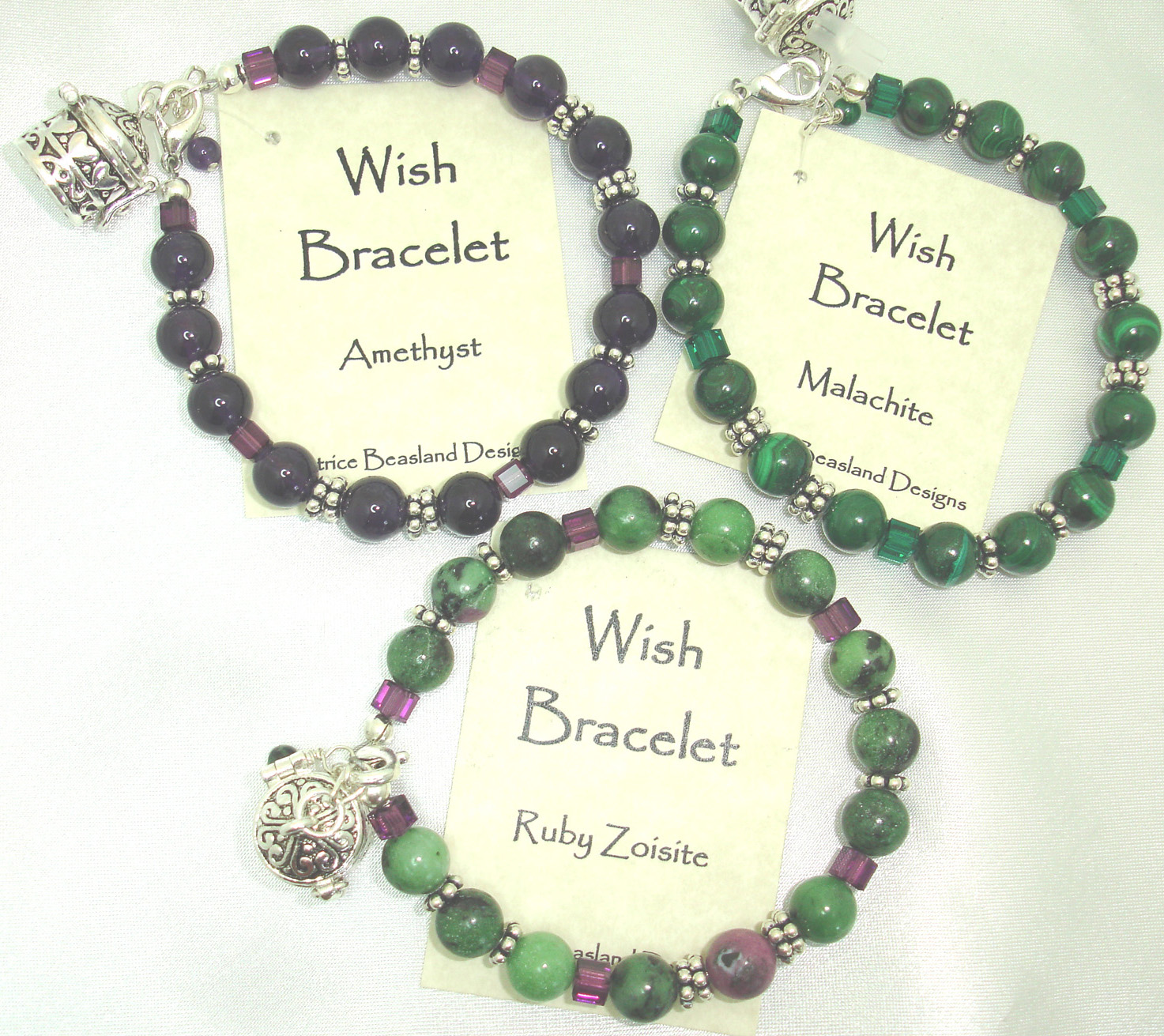 Patrice Beasland: Wish Bracelets